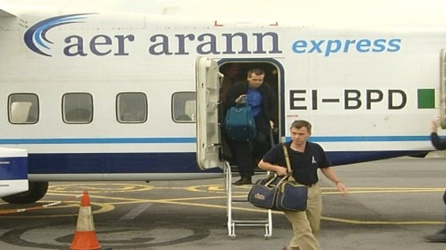 Aer Arann's Galway services will be suspended from 31 October