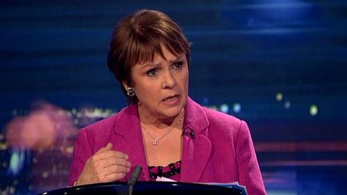 Dana Rosemary Scallon's statement was the pivotal moment in tonight's debate