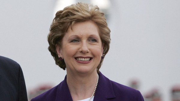 President McAleese is on her final official overseas trip