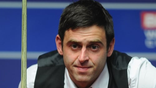 Ronnie O'Sullivan's automatic place in April's World Championships could be in doubt as the former world number one is currently 16th in the rankings