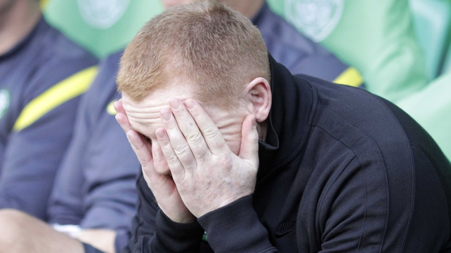 Neil Lennon has just served a two-match ban