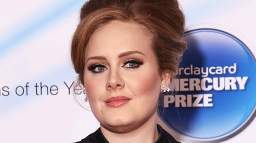 Adele makes her first official performance