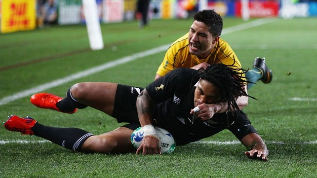New Zealand go ahead early - Ma'a Nonu touches down