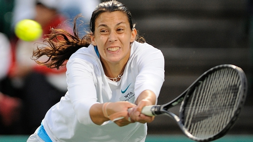 Bartoli was forced to play two matches in one day