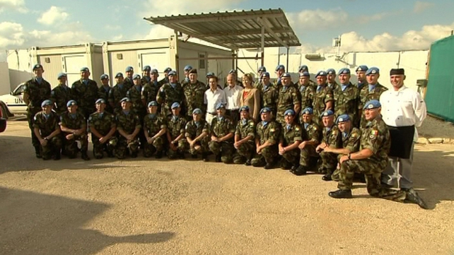 The President first official visit was to Lebanon