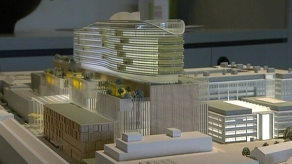 Proposed new Children's Hospital at Mater site