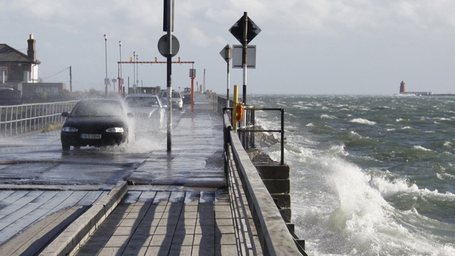 Met Éireann has said strong winds of up to 130 km/h are forecast