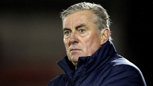 Drogheda United manager Pete Mahon looks set for a return to the top flight