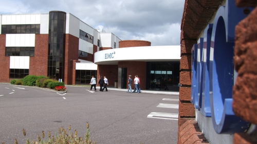 EMC employs more than 3,000 people in Ireland