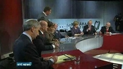 Six One News: Presidential candidates in bilingual television debate