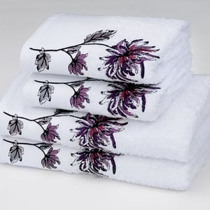 Littlewoods Japanese Chrysanthemum towel set €14