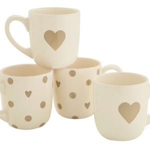 NEXT mugs, set of four, €13
