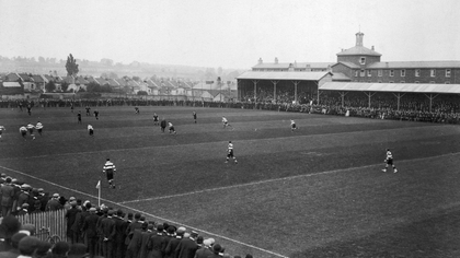 The 'Originals' play a match in England in 1905
