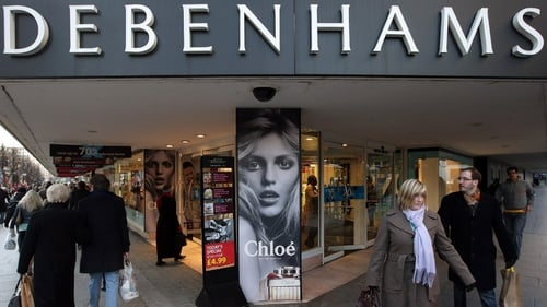 Debenhams says outcome from first half of the year ''disappointing''