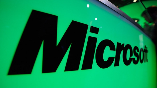 Microsoft's latest quarterly revenues rises by 18%