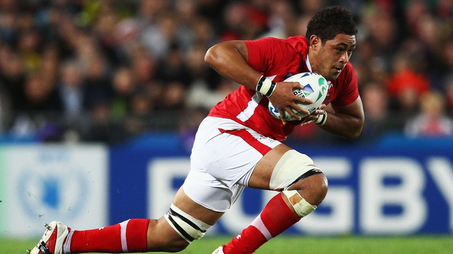 Wales v Australia - Toby Faletau replaces Sam Warburton in the number seven jersey