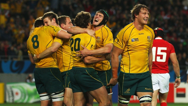 Rugby World Cup third place - Australia defeat Wales