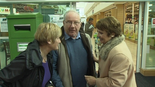 """Dana Rosemary Scallon said she would not be """"intimidated"""" into leaving the race for the Áras"""