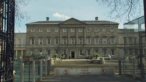 Revenue were on site in Leinster House earlier this month