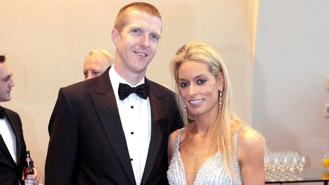 Henry Shefflin - Pictured with his wife Deirdre picked up All Star No 10 at the Convention Centre