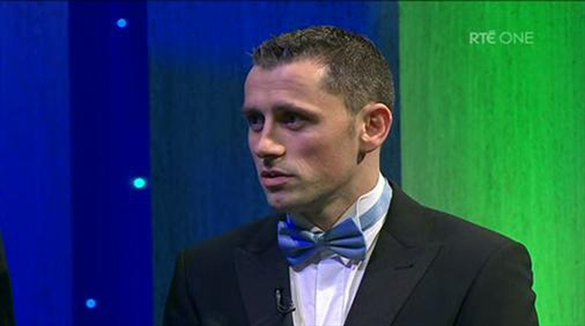 Alan Brogan was named Footballer of the Year
