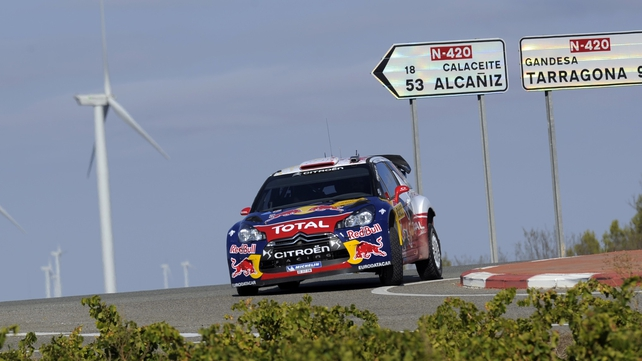 Sebastien Loeb continues to lead the way in Mexico