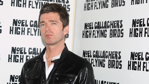 Noel Gallagher - taking on brother Liam in the courts
