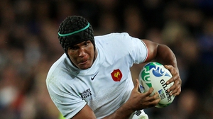 Thierry Dusautoir injured while playing for Toulouse