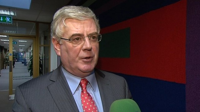 Eamon Gilmore conceded there may have been a problem with timing of referendum