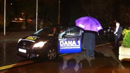 Dana's car