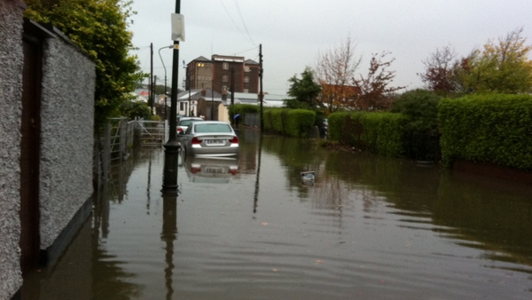 The Dublin floods resulted from 'monster rain', according to city council officials