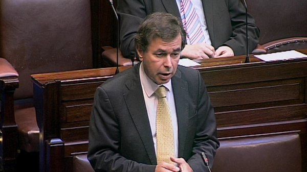 Alan Shatter made a statement in the Dáil this evening