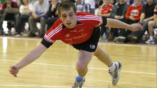 Robbie McCarthy beat Michael Gregan to the 40x20 National Championships title