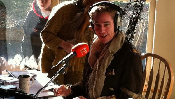 Tubridy supporting the Dress up for Barnardos campaign