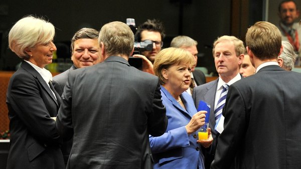 EU leaders meet in Brussels to try to agree a comprehensive solution to the eurozone debt crisis