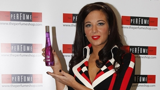 Tulisa and the TFB perfume