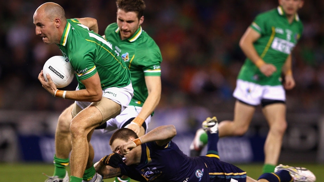 Australia v Ireland - The Aussies were, once again, outplayed by the Irish side