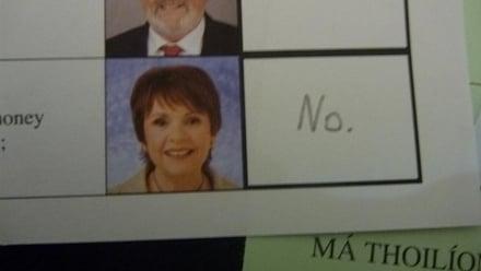 Dana ballot