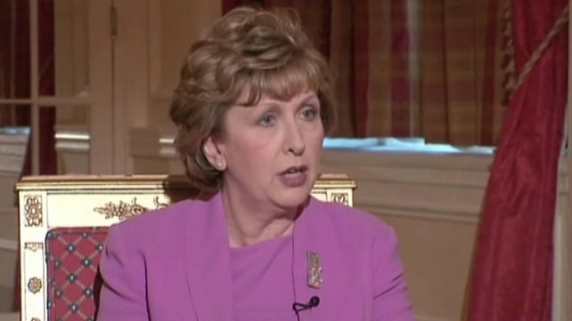 Mary McAleese said many gay people have endured interminable loneliness