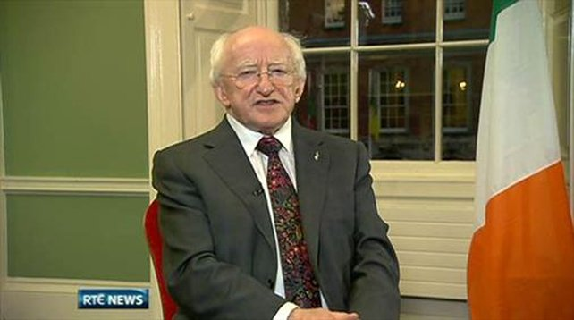 Six One News: Higgins promises to be 'President for all'