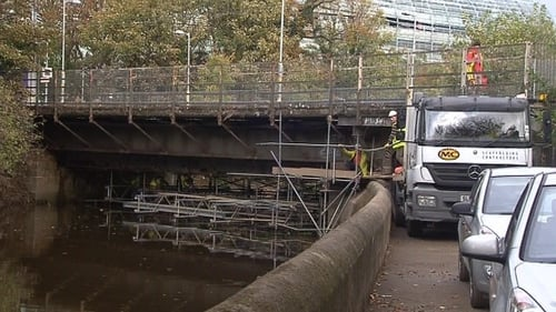 Local residents and their insurance representatives had claimed that scaffolding in the Dodder river had caused an accumulation of debris