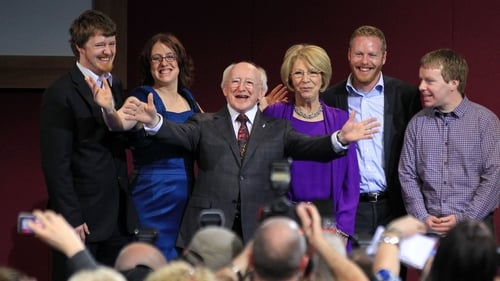 Michael D Higgins got 701,101 first preference votes
