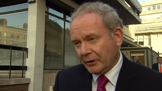 Martin McGuinness refused an invitation to attend the state dinner at Dublin Castle last year