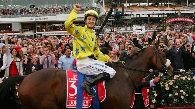 Christophe Lemaire aboard this year's Melbourne hero