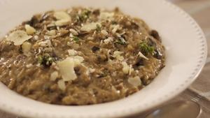 Rachel Allen's Baked Mushroom Risotto
