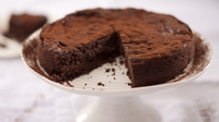 Chocolate mousse cake - Complete decadance but there should always be an upcoming occasion for a treat