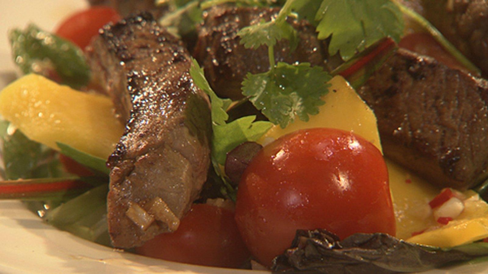 Catherine Fulvio's Vietnamese Beef Salad