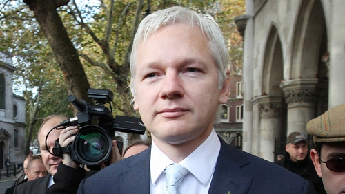 Julian Assange has not left the Ecuadorean Embassy in London for the past 12 months