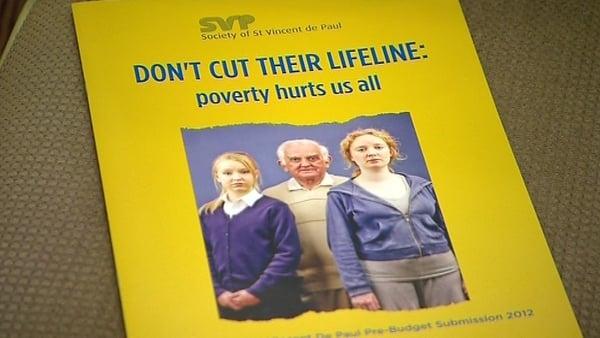 St Vincent de Paul has launched its pre-Budget submission