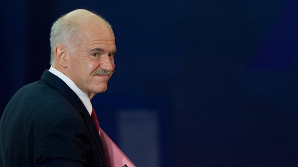George Papandreou shocked Europe by calling a referendum